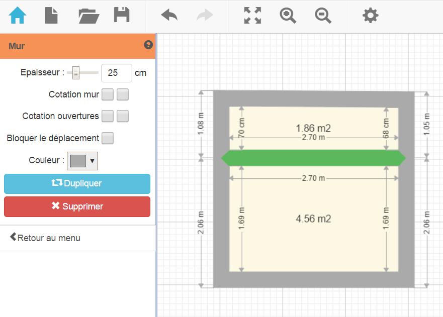 plan de maison et plan d 39 appartement gratuit logiciel. Black Bedroom Furniture Sets. Home Design Ideas