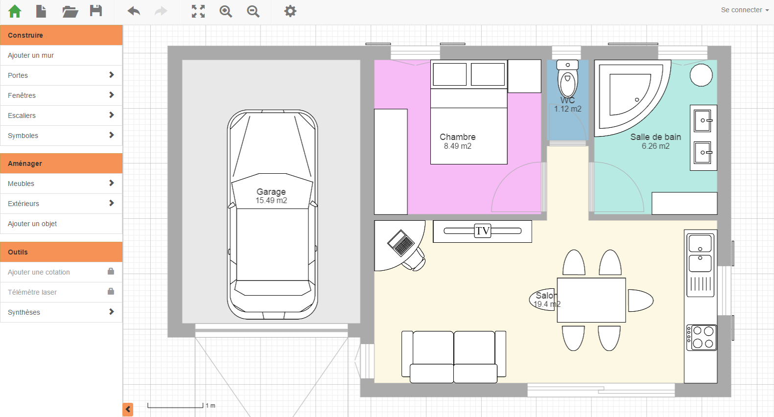 Export de plan en dxf avec archifacile - Dessiner plan de maison ...