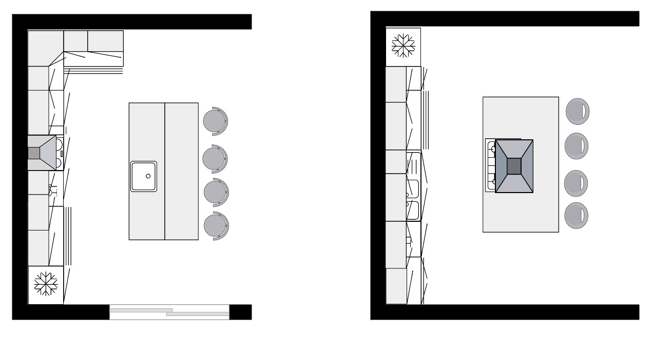 Comment dessiner le plan d une maison awesome with for Cuisine plan type