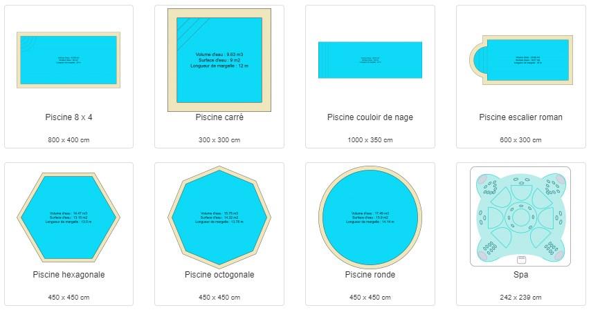 Avec Archifacile, Tous Nos Modèles De Piscines Sont Redimensionnables Et  Compatibles Avec Les Différents Types De Bassins :