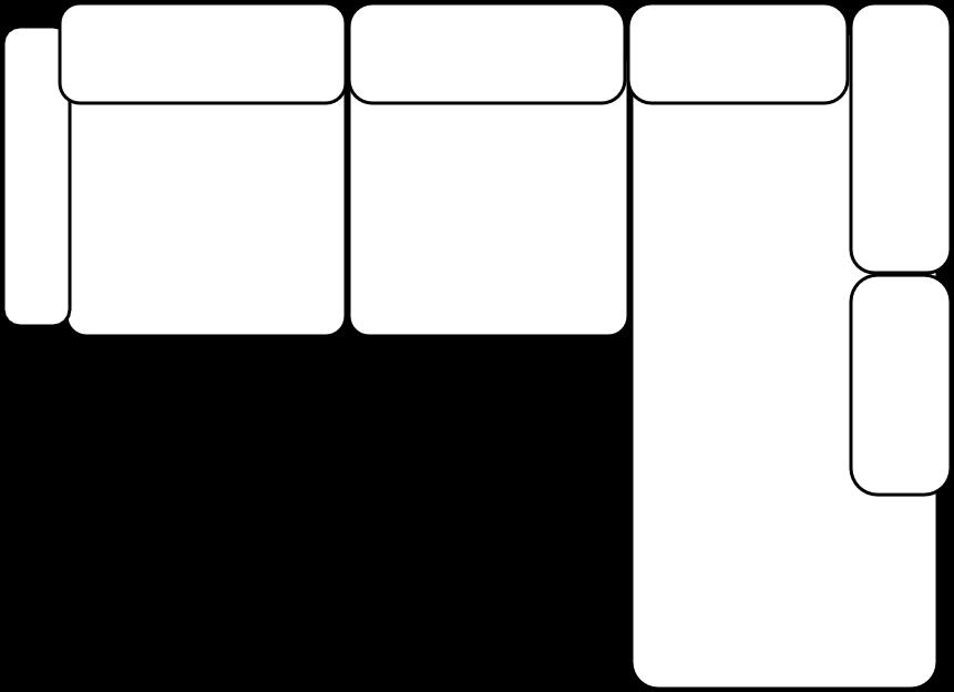 Canape Angle Droit M151