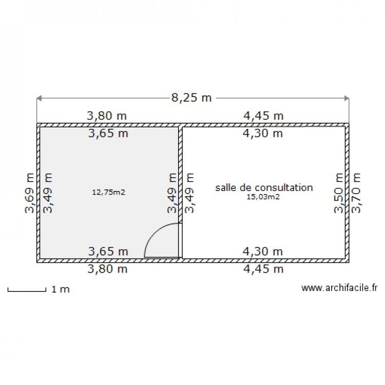 Plan De Masse Archi Facile Plan 2 Pi Ces 28 M2 Dessin