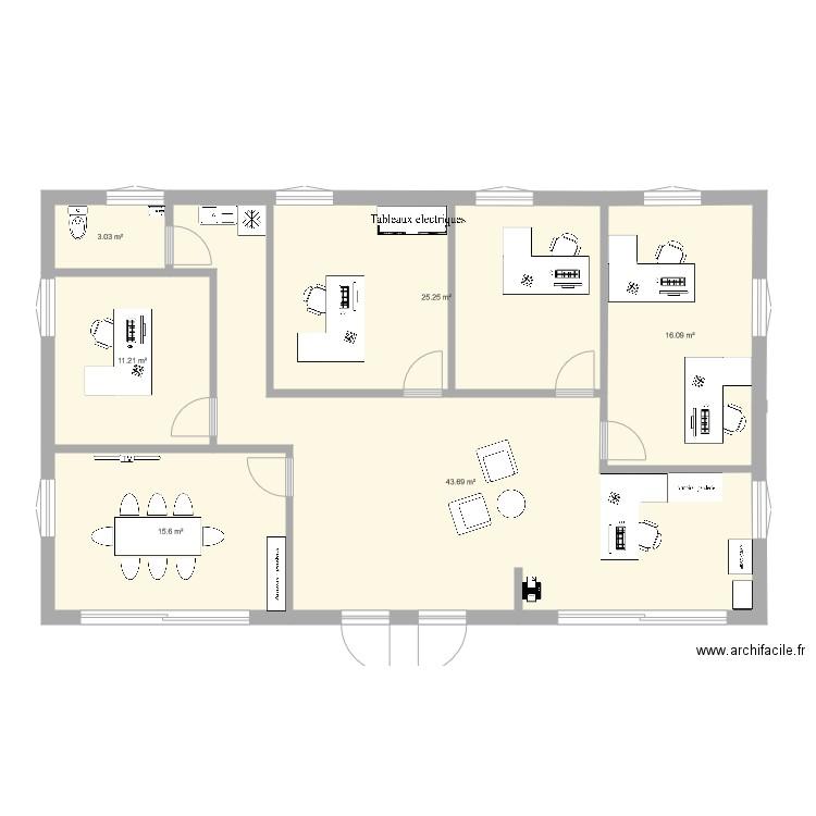 Poitiers sud plan 6 pi ces 115 m2 dessin par anais arosh for Garage citroen poitiers sud