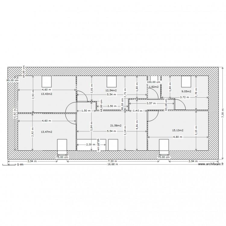haut final v lux plan 7 pi ces 87 m2 dessin par kerzhed. Black Bedroom Furniture Sets. Home Design Ideas