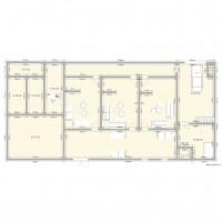 Plan maison et appartement de 330 à 350 m2