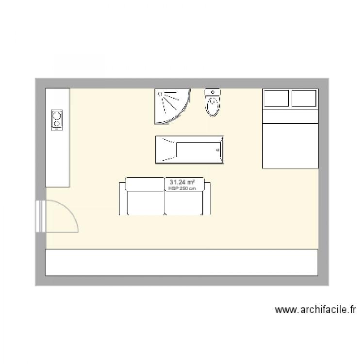 annexe plan 1 pi 232 ce 31 m2 dessin 233 par sylvie cagne