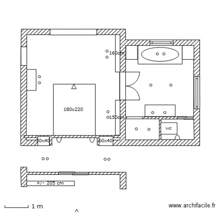 Master def double porte lumi plan dessin par avdh for Dimension porte double vantaux