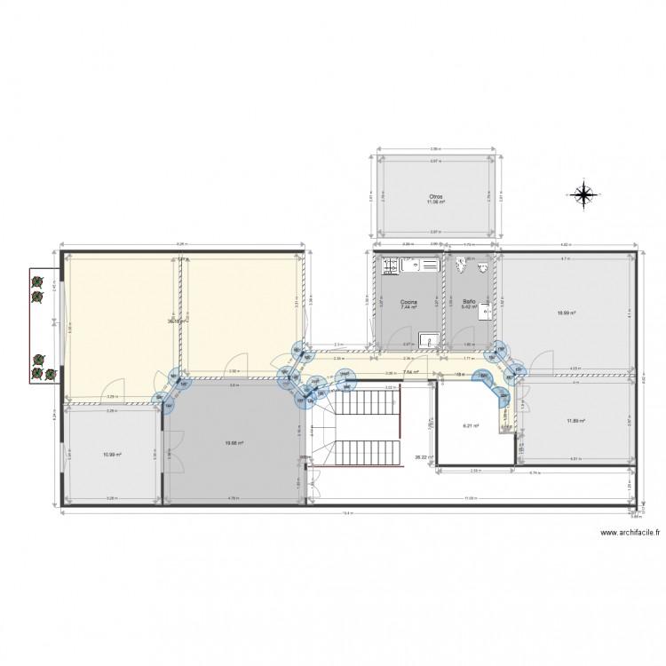 Casamara plan 11 pi ces 162 m2 dessin par dinete for 162 plan