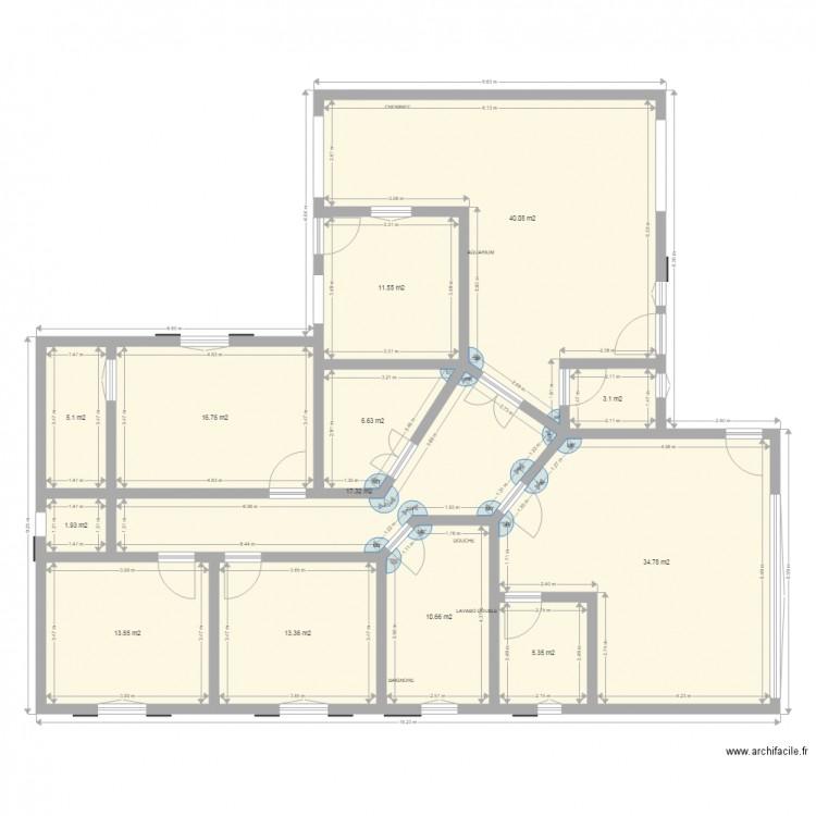 Plan De Maison Plain Pied Gratuit Faire Construire Sa Maison 8