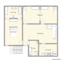 Plan maison et appartement de 6 pi ces de 100 120 m2 for Plan d une maison marocaine