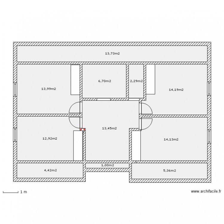 plan maison carree etage ventana blog. Black Bedroom Furniture Sets. Home Design Ideas