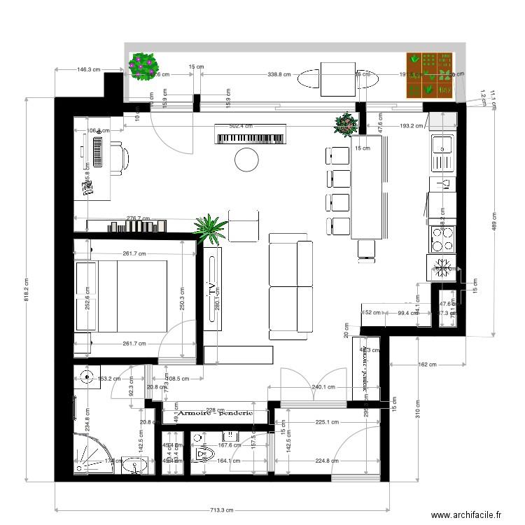 plan appartement 110 m2