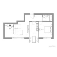 plan appartement 60m2 3 chambres
