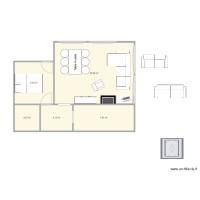 Plan Maison Et Appartement De 46 à 50 M2