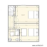 Plan maison et appartement de 3 pi ces de 30 34 m2 for Garage marengo marseille