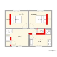 surzur etage projet5 - Faire Un Plan D Appartement En Ligne