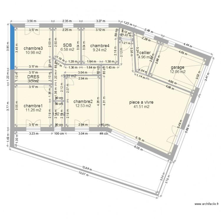 Plan 120m3 ok terrasse grande plan 11 pi ces 120 m2 - Plan appartement 120 m2 ...
