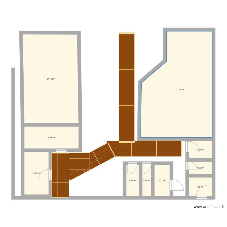 Chambre froide plan 10 pi ces 91 m2 dessin par valeinstein - Chambre froide d occasion belgique ...
