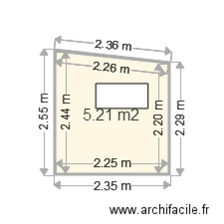 cabane dans les arbres face sud plan 1 pi ce 5 m2. Black Bedroom Furniture Sets. Home Design Ideas