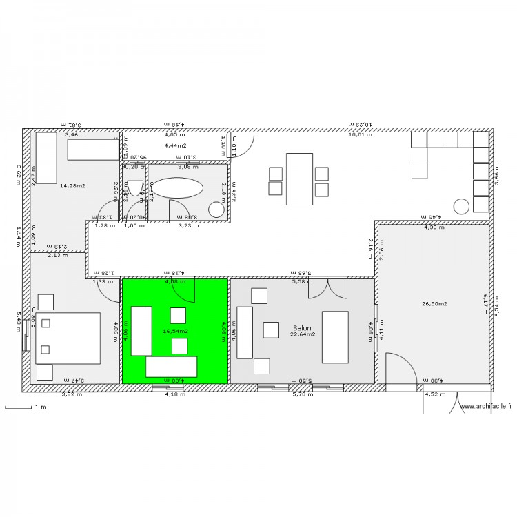 Preview for Plan maison 100 m2