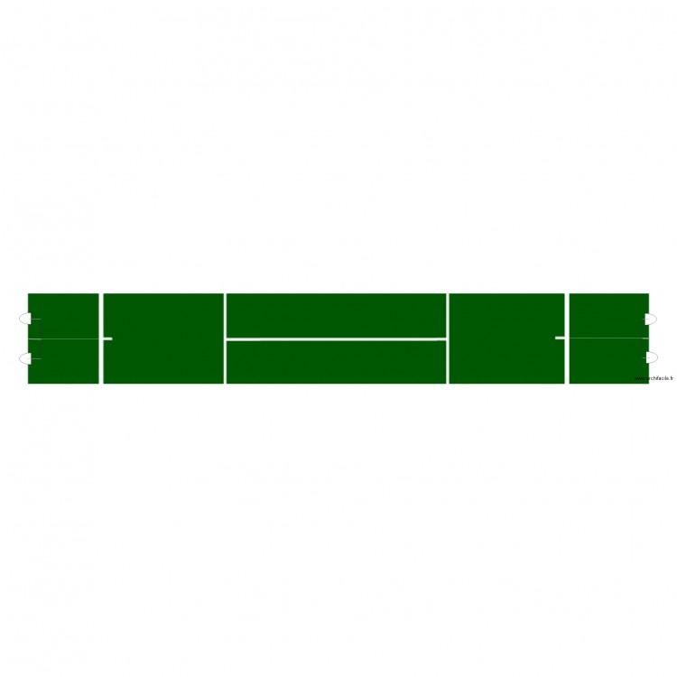 Radars court tennis plan dessin par ollin01 for Taille court de tennis