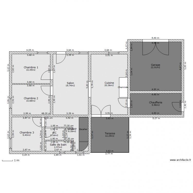 Comment dessiner un plan de maison jolie maison plan de for Dessiner plan maison facile