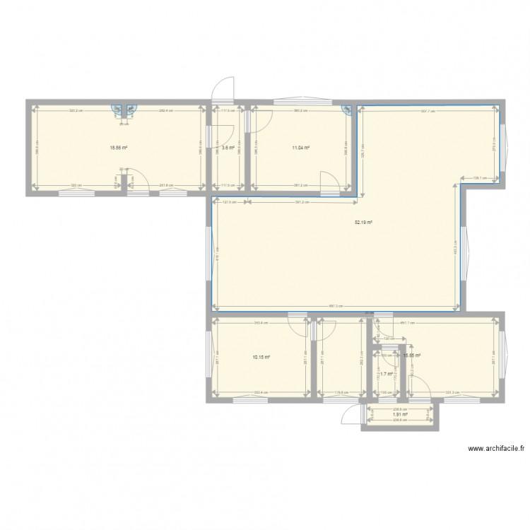 maison rez de chauss e plan 8 pi ces 115 m2 dessin par smghdeol. Black Bedroom Furniture Sets. Home Design Ideas