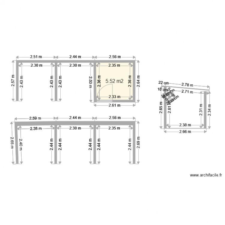 Abri de jardin vue de dessus plan 1 pi ce 6 m2 dessin par palactiti - Abri jardin grande taille ...