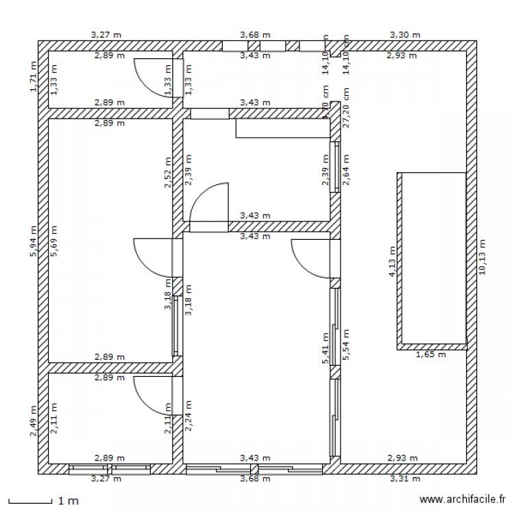 plan de maison 86
