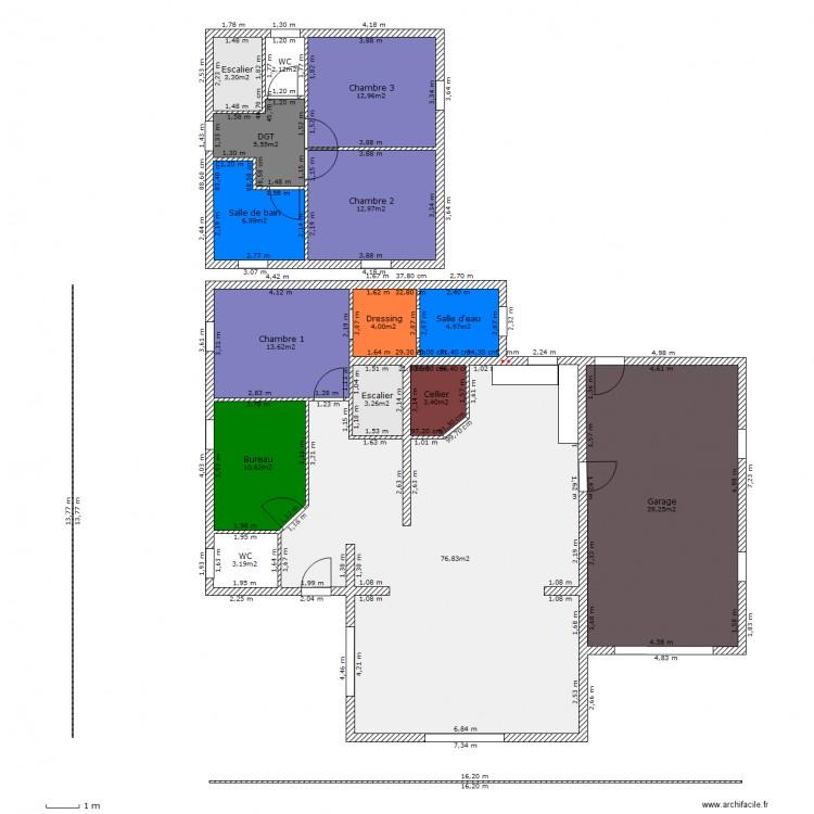 ... Maison Avec Tour Plan 15 Pi Ces 203 M2 Dessin Par Toowan43   Plan  Maison Avec ...