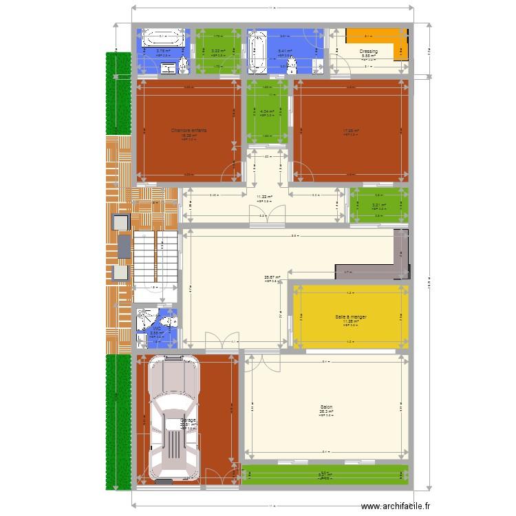 Ma maison plan 15 pi ces 165 m2 dessin par odieye for Dessine ma maison gratuitement
