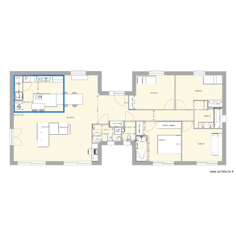 plan maison nativie