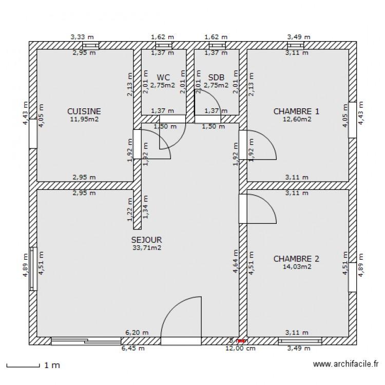 plan maison zarzis