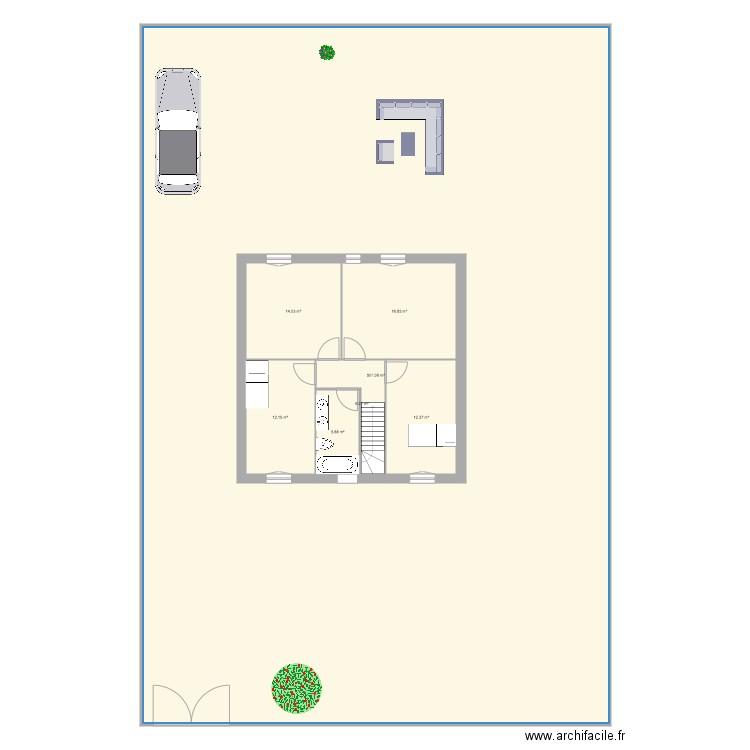 Maison saint captais 9x9 etage plan 7 pi ces 568 m2 for Aides pour maison de retraite