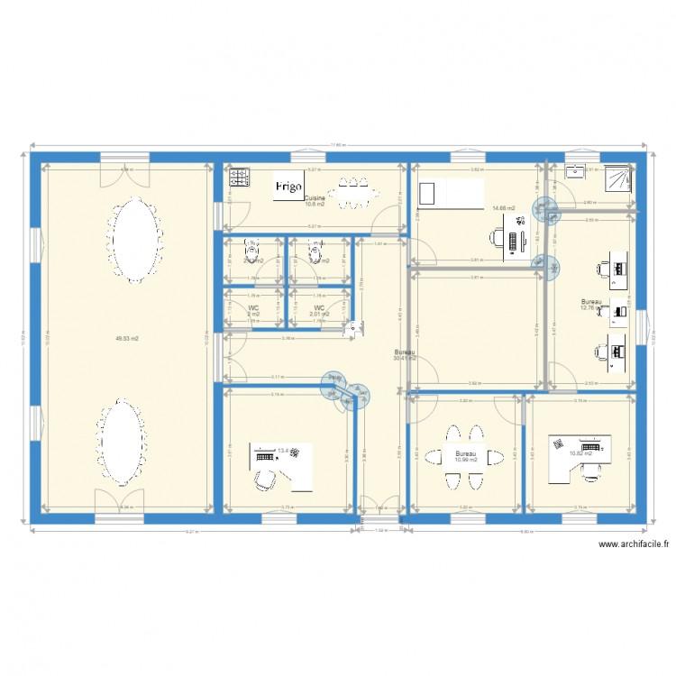 Plan 22 plan 12 pi ces 162 m2 dessin par lorento for 162 plan