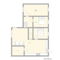 Maison Maroc Plan 6 Pièces 88 M2 Dessiné Par Marokkino