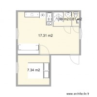 Plan maison et appartement de 26 30 m2 - Plan appartement 30 m2 ...
