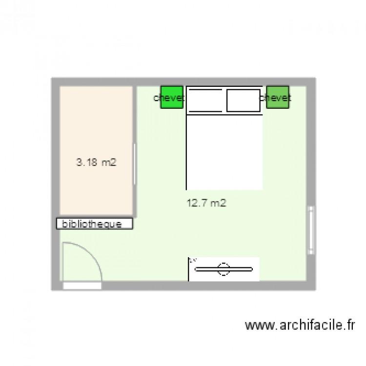 plan chambre dressing dans cette je supprimerai la porte chambre parents dressing t4 de 165 m. Black Bedroom Furniture Sets. Home Design Ideas