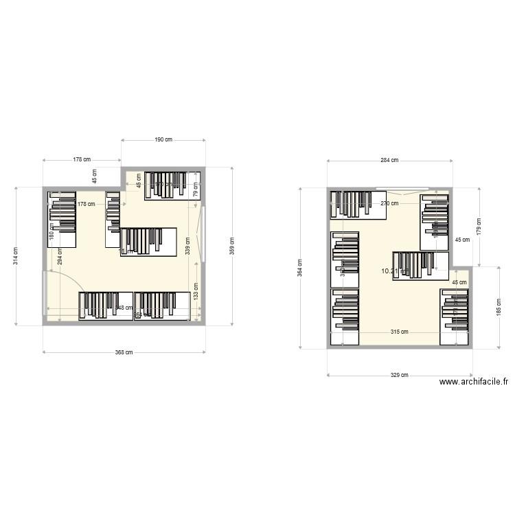 Salle Archive Plan 1 Pi Ce 11 M2 Dessin Par Version Immo