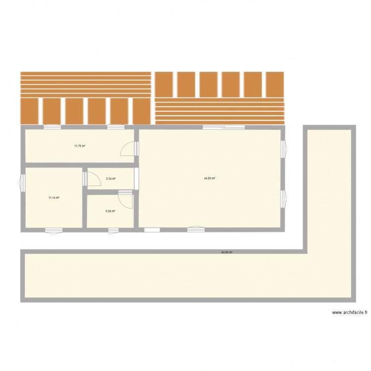 Plan1 plan 6 pi ces 140 m2 dessin par maldini13 - Consommation electrique moyenne maison 140 m2 ...