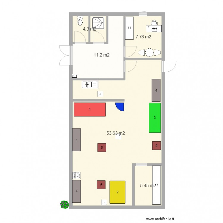 plan cuisine professionnelle charmant plan cuisine professionnelle normes 14 cuisine sur plan. Black Bedroom Furniture Sets. Home Design Ideas