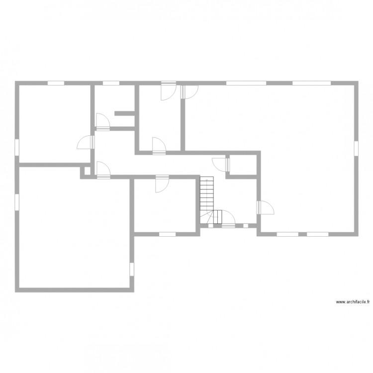 Travail chauffage plan 9 pi ces 183 m2 dessin par for Chauffage watt par m2