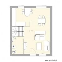 plan maison 50m2 1 chambre