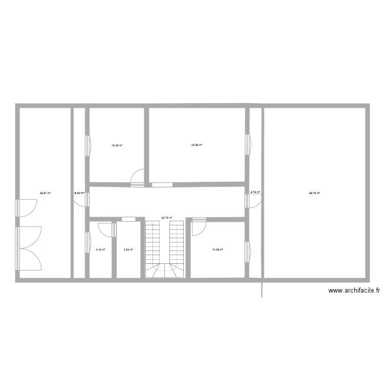 2d floor plan 12 pi ces 178 m2 dessin par abdellatif54. Black Bedroom Furniture Sets. Home Design Ideas