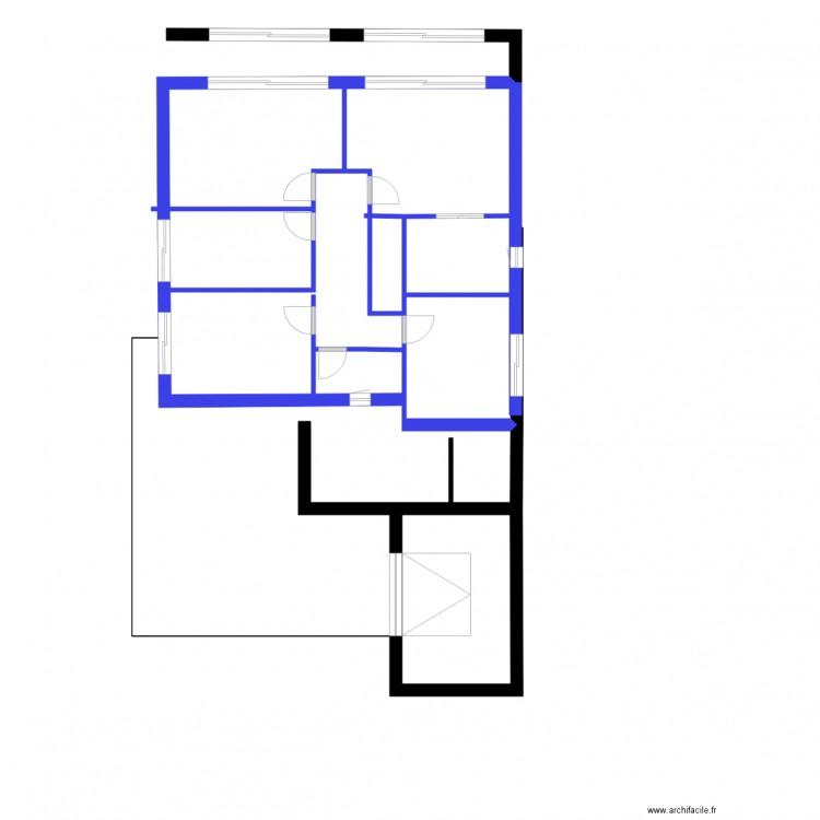 Nic plan reduit entr es est 2 sans chambre etage plan 6 for Chambre sans fenetre est ce legal