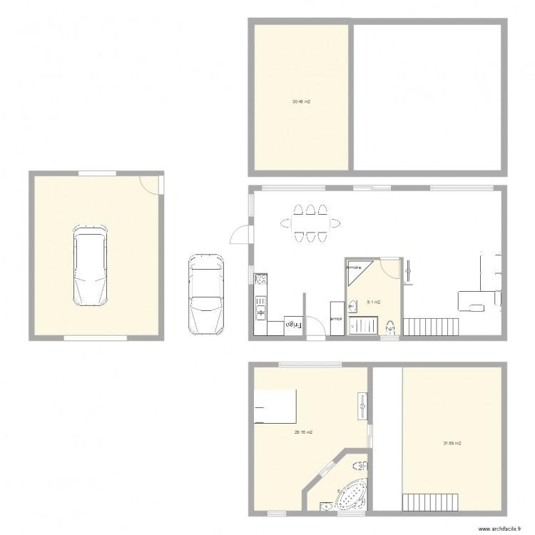 plan de maison 24 x 40