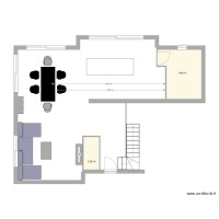 plan 2 appartements dans une maison