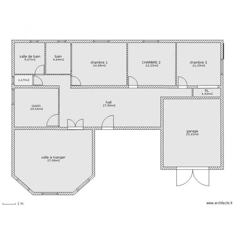 Thies plan 11 pi ces 138 m2 dessin par senegal for Plan de dakar