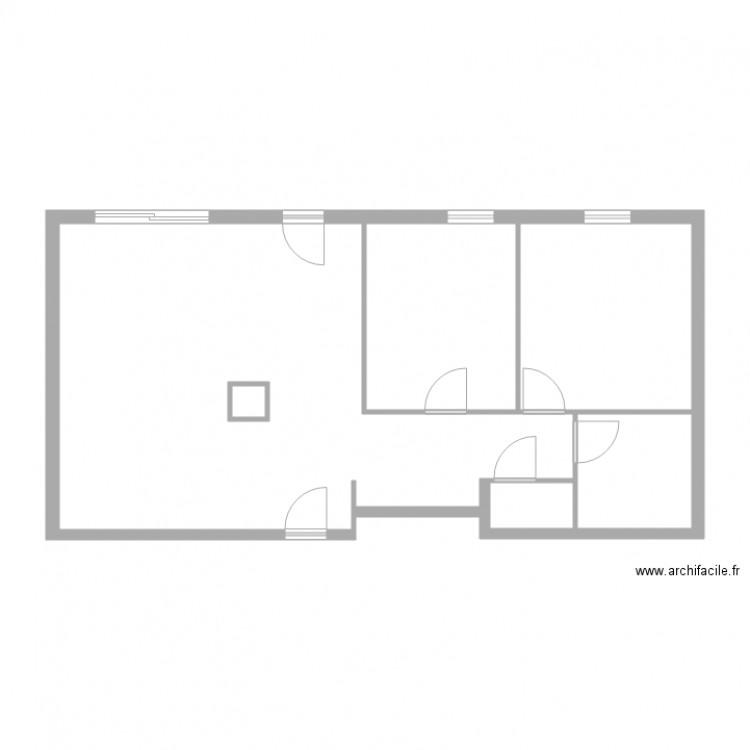 Rieb lingolsheim plan 5 pi ces 29 m2 dessin par lcd 67 for Location garage lingolsheim
