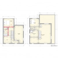 Amazing Gallery Of Lemenil Projet With Plan Maison En Forme De U With Maison  En Forme De U